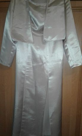 платье женское вечернее атласное размер:48