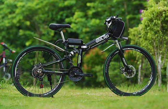 [NOWY] Składany rower elektryczny SMLRO miejski