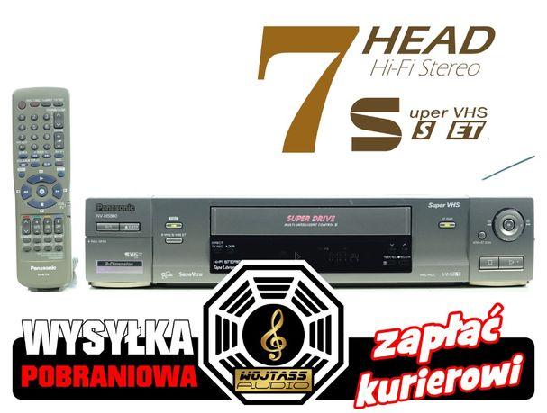 Magnetowid Panasonic NV-HS860 7-głowic SUPER VHS *S-VHS * S-Video VCR