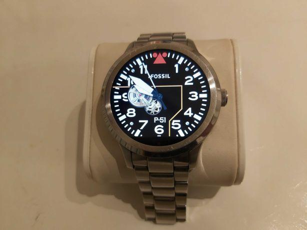 Smartwatch FOSSIL Q Founder 01 K0,Zegarek Męski,Stacja Dokująca
