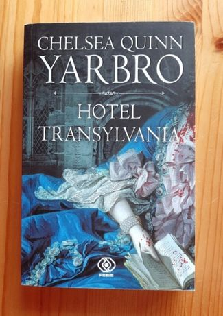 Książka horror Hotel Transylvania, Chelsea Quinn Yarbro (nowa)