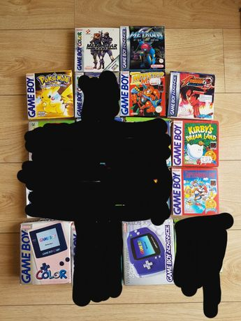Jogos gameboy originais em caixa