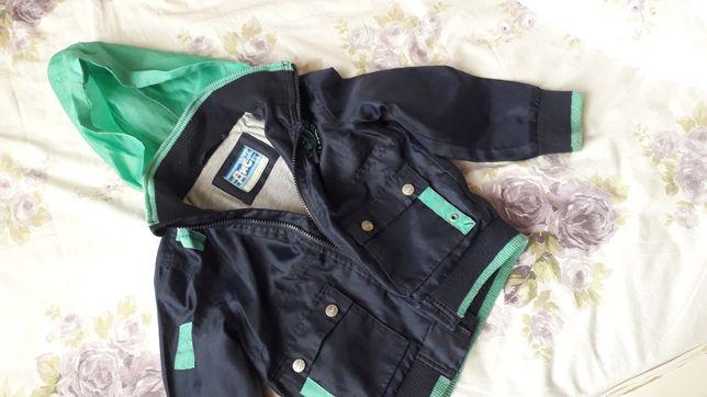 Курточка для мальчика 110-116