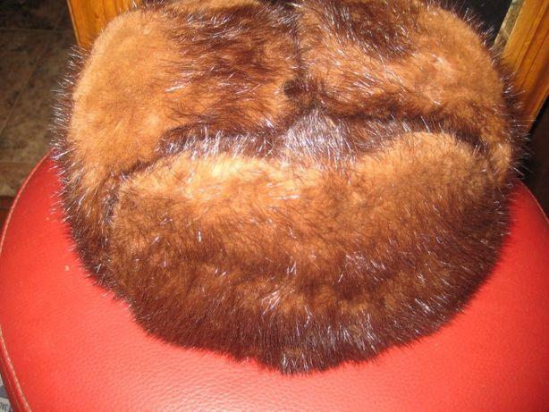 Норковая шапка времен ссср в отл сост, торг