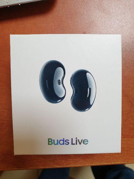 Samsung Buds Live - Nowe, nieotwarte opakowanie, Gwarancja