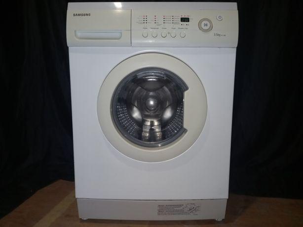 Узкая компактная стиральная машина SAMSUNG с дисплеем. Доставка!