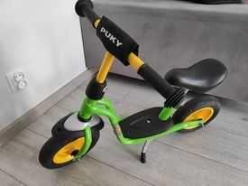 Rowerek biegowy Puky + stopka + koszyczek