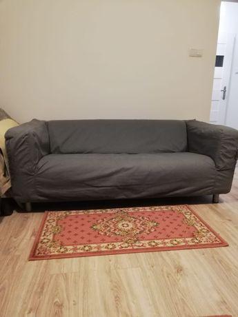 Dwie sofy z IKEA z pokrowcami