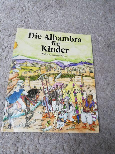 Die Alhambra für Kinder książka po niemiecku dla dzieci