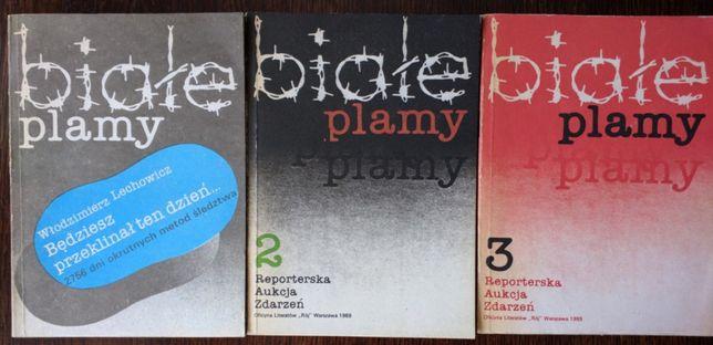 Białe plamy - 3 książki