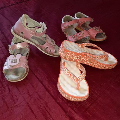 Обувь летняя:босоножки,шлёпки