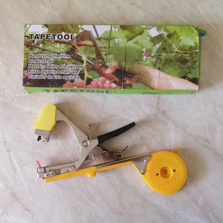 Степлер для подвязки винограда. Инструмент для подвязки.