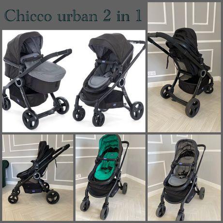 Коляска chicco urban 2 в 1