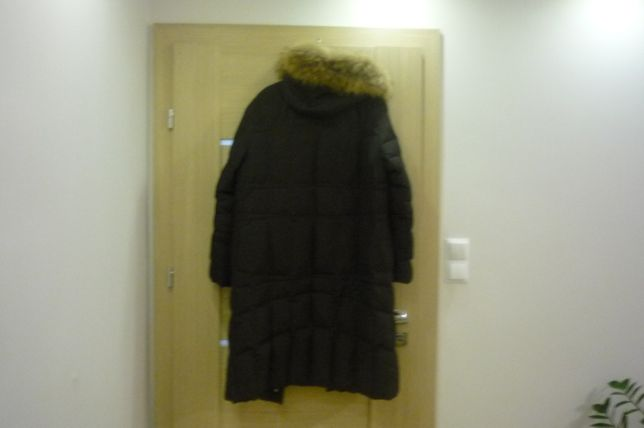 Płaszcz puchowy jenot naturalny