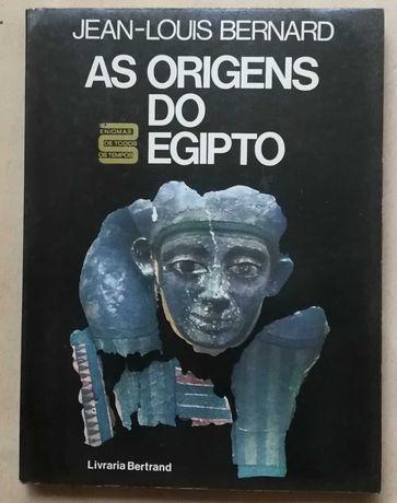 as origens do egipto, jean-louis bernard, livraria bertrand