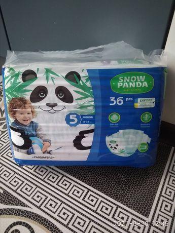 Памперсы 5-ка снежная панда