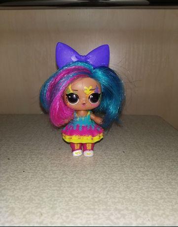 Новая!  Кукла Лол LOL Hairgoals Клякса Зайка.