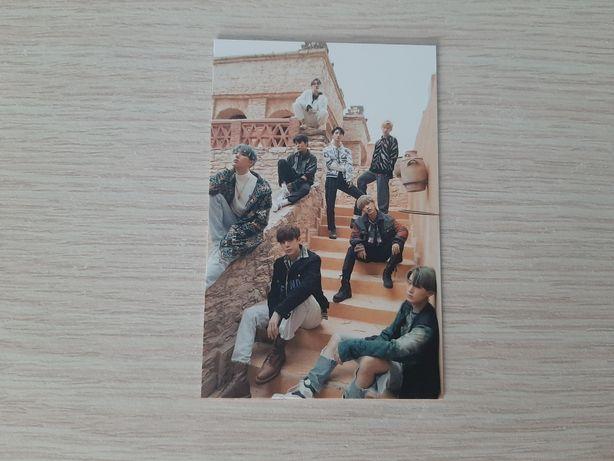 Karta grupowa Ateez kpop