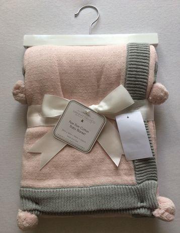 Kocyk dla niemowląt dzieci 100% bawełna