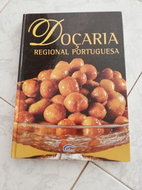 Livro de receitas Doçaria Regional Portuguesa