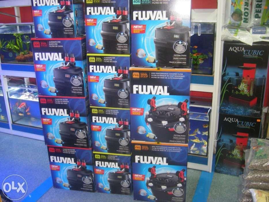 Filtro para aquario Fluval 106 novo