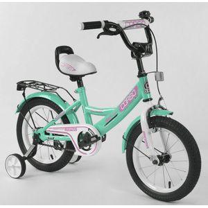 Детский двухколесный велосипед с ручным тормозом