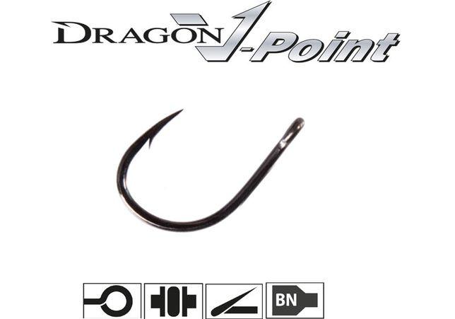 Haczyki Dragon V-Point Pro Carp 60500 rozm 1