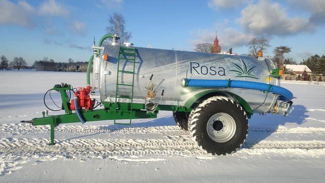 Wóz asenizacyjny 6000 litrów ROSA - beczkowóz, beczka, szambiarka