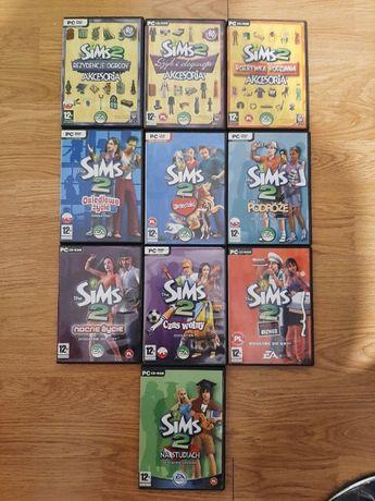 Sims 2 dodatki i akcesoria 10x