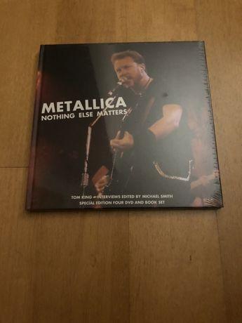 Metallica - Nothing Else Matters (4 DVD e Livro) Novo Selado