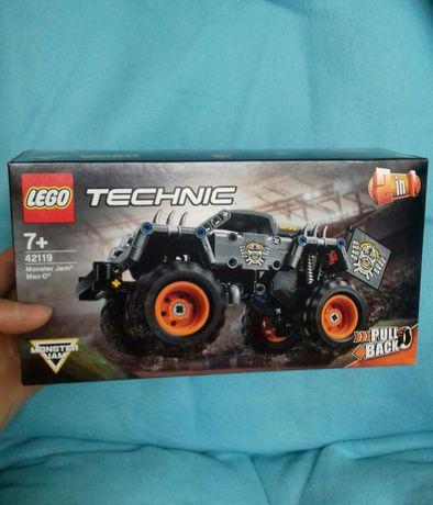 Лего конструктор, машина Monster  jam 2 в одном