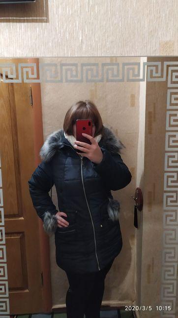 Парка пальто пуховик куртка курточка зимняя теплая
