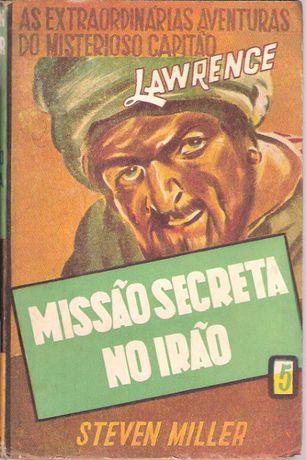 """Livro """"Missão Secreta no Irão"""" Steven Miller"""