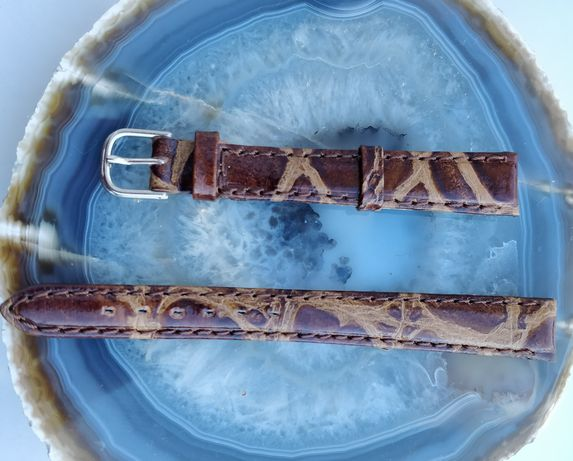 Braceletes 12 mm, pele, novas, todo tipo relógios, várias cores