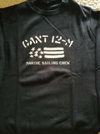 Camisola azul marinho Gant.