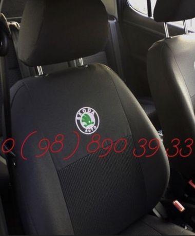 Авточехлы чохли чехлы Skoda Fabia Tour Octavia А5 А7 Rapid SuperB