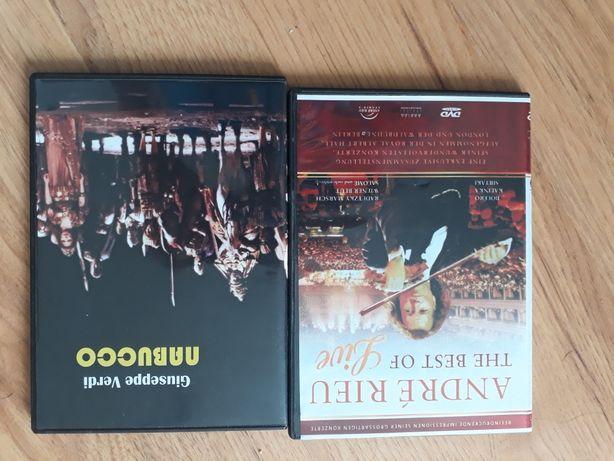 "Andre Rieu  ""The best of live"" i Nabucco na dvd"