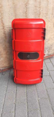 skrzynia skrzynka kufer na gaśnice