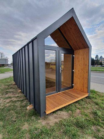 Biuro ogrodowe, domek na działkę, biuro dla firmy.