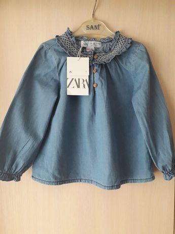 Блузка рубашка кофта Zara оригинал