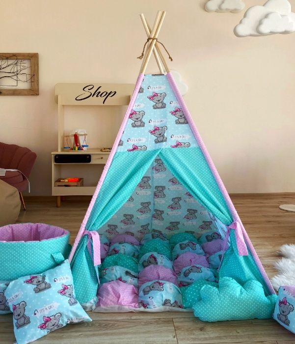 Акция. Домик, детский вигвам, палатка, типи. При заказе подарок. Одесса - изображение 1