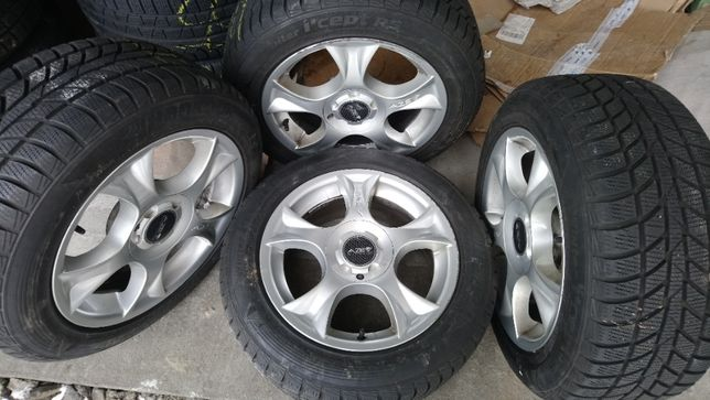 Felgi Alufelgi AZEV BMW VW Opel 16 cali 5x120 ET40 Opony 205/55 6,5mm