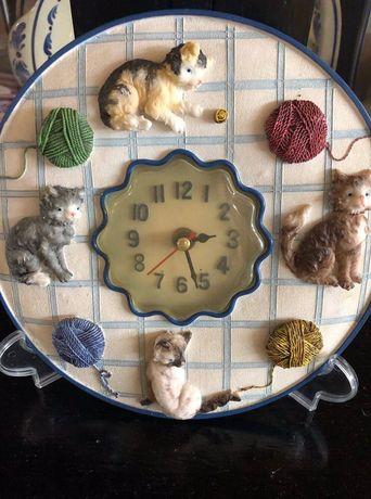 Relógio com suporte
