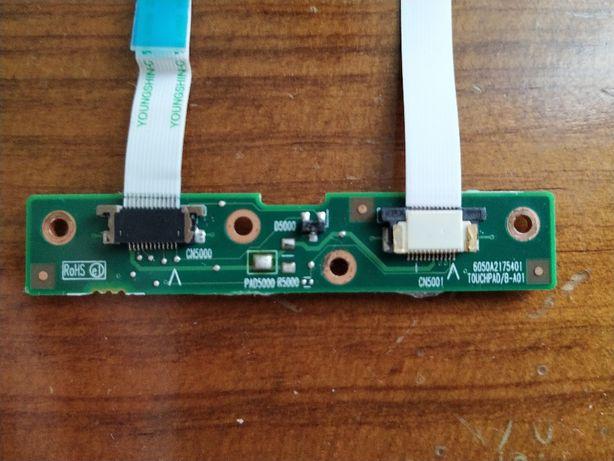 Botões Touchpad Toshiba Satellite Ref 6 0 5 0 A 2 1 7 5 4 0 1