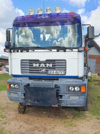 MAN F2000 6x6 HDS Wywrotka