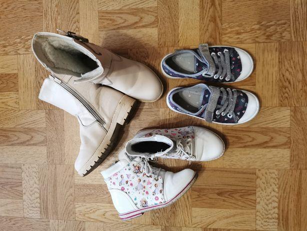 Пакет обуви на девочку 28, 29 размер