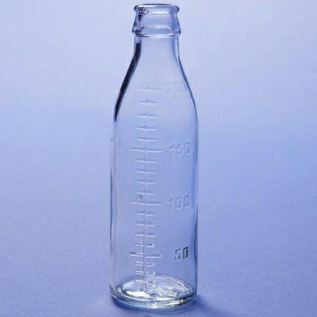 Отдам стеклянные бутылочки 14 штук 200 мл