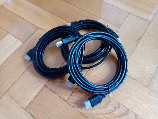 Kabel HDMI - wszystkie formaty. 3 metry. Najtaniej!