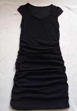 Sukienka czarna, rozmiar 38