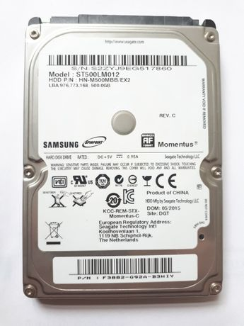 "Жесткий диск Samsung ST500LM012 500GB 2.5"""